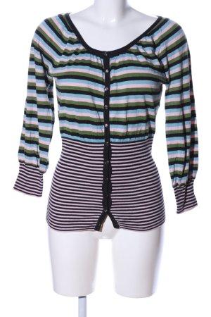 St-martins T-shirt rayé motif rayé style décontracté
