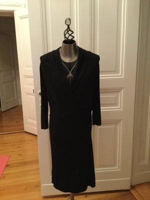 St-martins Robe en maille tricotées noir viscose