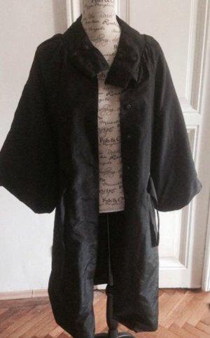 St-martins Abrigo de entretiempo negro Poliéster