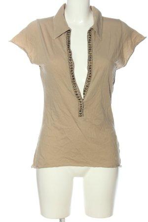 St-martins V-Ausschnitt-Shirt wollweiß Casual-Look