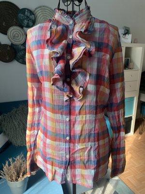 St. Moritz Geruite blouse veelkleurig Katoen