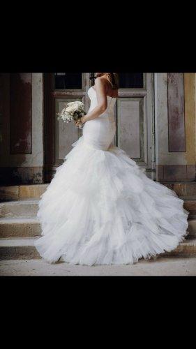 San Patrick Wedding Dress white