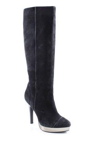 Staccato Absatz Stiefel schwarz Elegant
