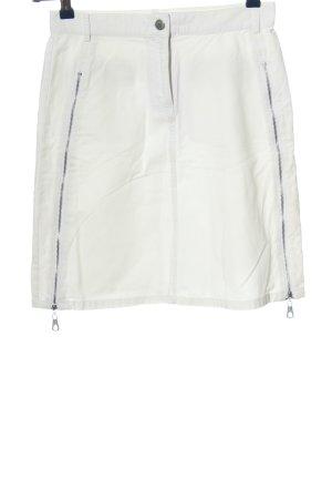 Staccato Minigonna bianco stile casual