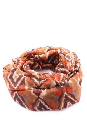 Staccato Folkloristische sjaal volledige print casual uitstraling