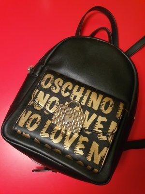 Love Moschino Sac à dos de randonnée noir-doré