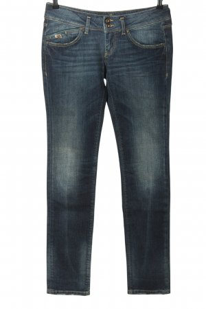 Staff Jeans Hüftjeans blau Casual-Look