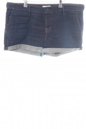 Staff Jeans Denim Shorts blue casual look