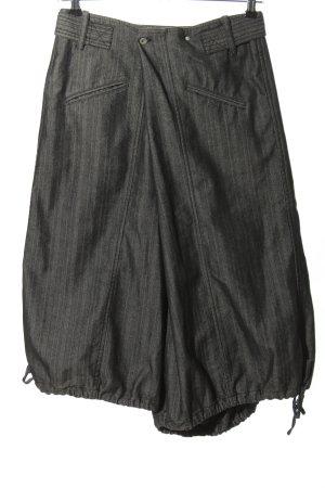 Staff Jeans Flodderbroek lichtgrijs gestreept patroon casual uitstraling