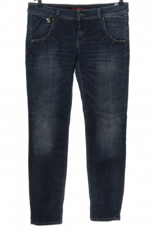 Staff Jeans Skinny Jeans blau Casual-Look