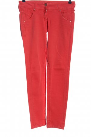 Staff Jeans Slim Jeans red casual look