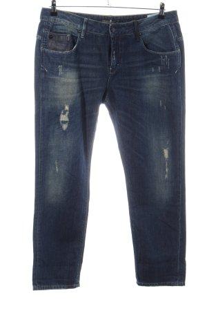 Staff Jeans Slim Jeans blau Casual-Look