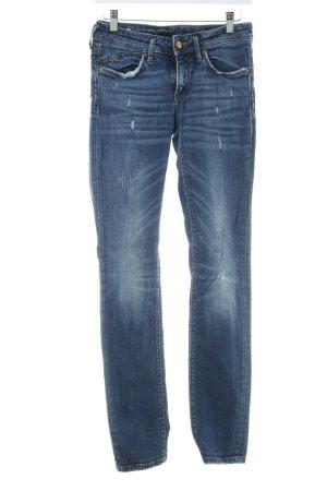 "Staff Jeans Straight-Leg Jeans ""SHYLA"" stahlblau"