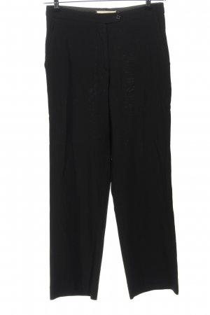STAFF Pantalón de lana negro estilo «business»