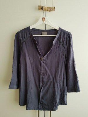 Stahlblaue Bluse von Vero Moda