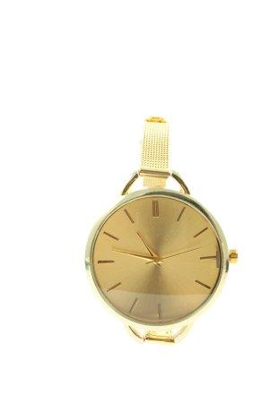 Orologio analogico oro elegante