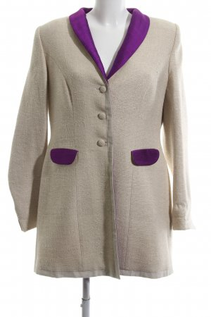 Stajan Long Blazer natural white-lilac elegant