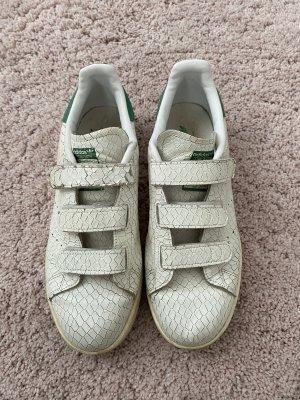 Adidas Basket hook-and-loop fastener blanc-vert forêt