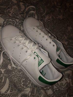 adidas stan smith Sneakers met veters wit-groen