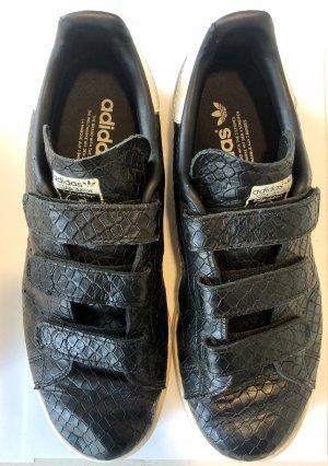 Adidas Zapatillas con hook-and-loop fastener negro-blanco
