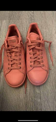 adidas stan smith Lace-Up Sneaker salmon-pink