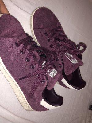 Adidas Originals Sznurowane trampki bordo-purpurowy