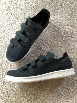 adidas stan smith Basket velcro noir-brun
