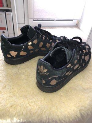 Adidas Stan Smith Adicolor Sneakers met veters zwart-roségoud