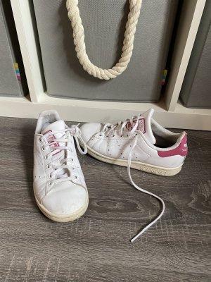 Stan smith sneaker turnschuhe Adidas weiß pink rosa