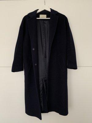 STAND Coat in Dunkelblau