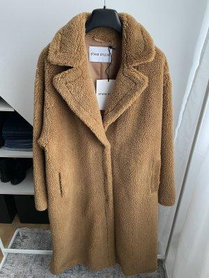 STAND STUDIO Fake Fur Coat multicolored