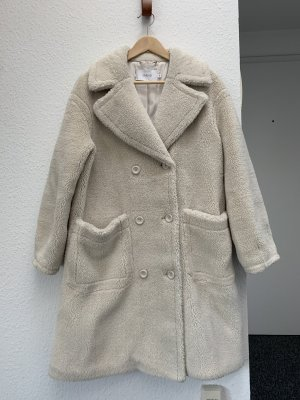 Stand Manteau oversized blanc