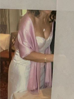 Angie The Event Collection Robe de mariée multicolore acétate