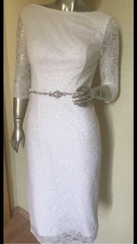 Unique Bride Vestido de novia blanco