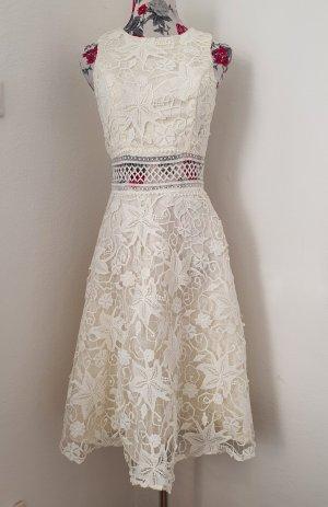 Chi Chi London Suknia ślubna w kolorze białej wełny