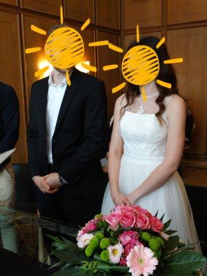 Chi Chi London Vestido de novia blanco