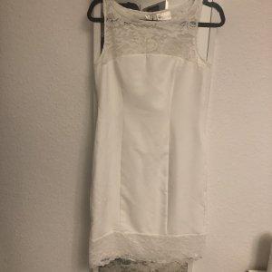 bpc Robe en dentelle blanc