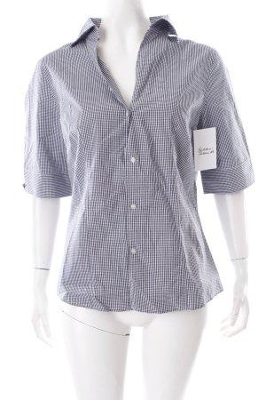 Stanfield Hemd weiß-dunkelblau