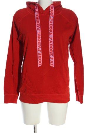 Stanley & Stella Kapuzensweatshirt rot Casual-Look