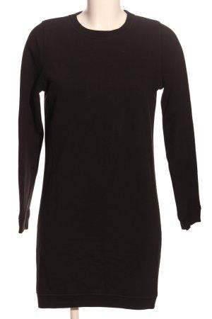 Stanley & Stella Pulloverkleid schwarz Casual-Look
