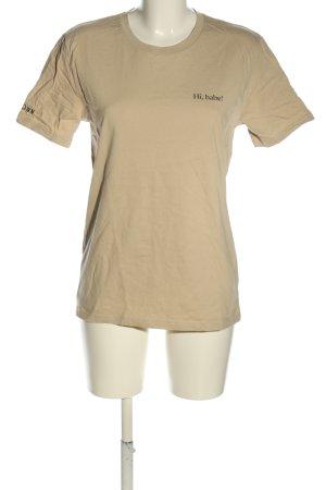 Stanley & Stella T-Shirt wollweiß Casual-Look