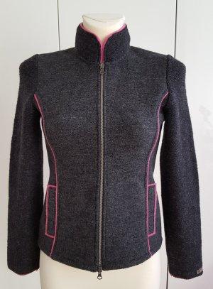 Stapf Damen Strickjacke Übergangsjacke 100% Wolle Gr. 36