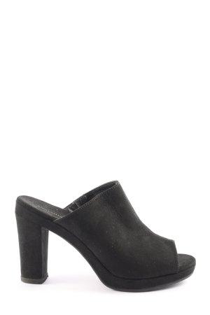Star Collection Sandalo con tacco nero stile casual