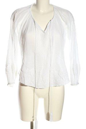 Star mela Long Sleeve Blouse white casual look