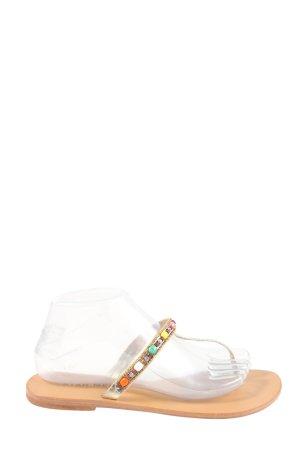 Star mela Sandalo toe-post multicolore stile casual