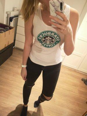 Starbucks Top weiß