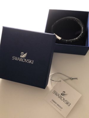 Stardust Armband Swarovski, schwarz