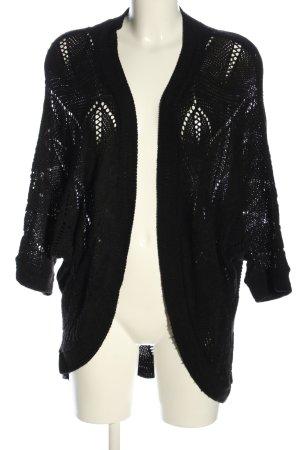 Staring at Stars Crochet Cardigan black casual look