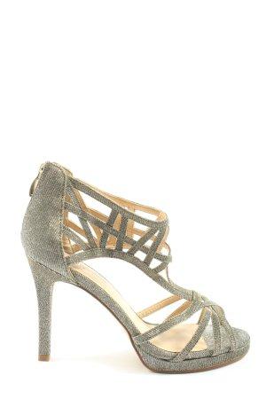 Starlet Sandalias de tacón alto gris claro elegante