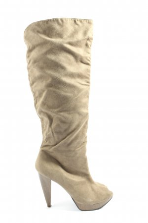 Starlet High Heel Boots cream casual look